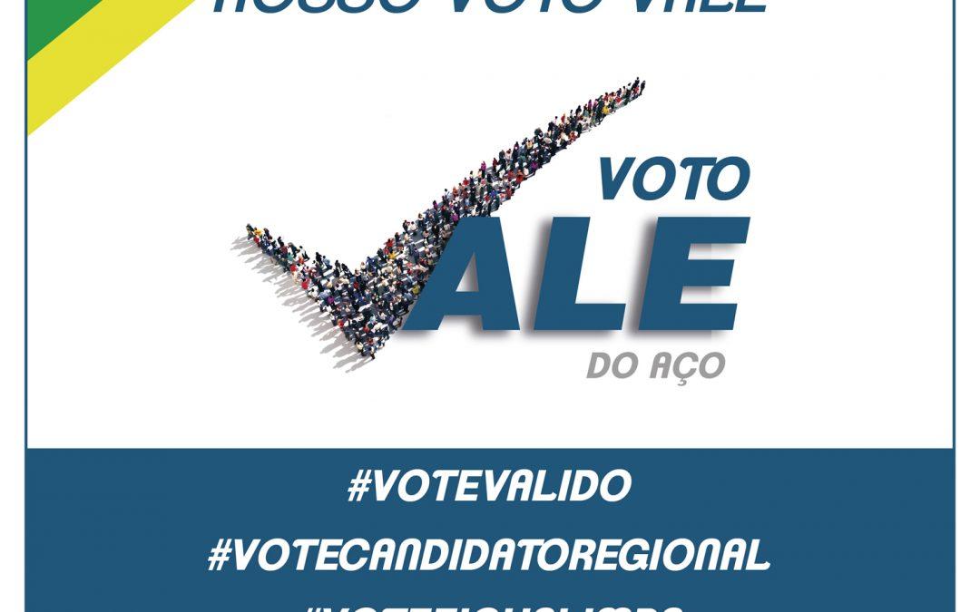 Eleições 2018 Resultado dos Candidatos a Deputado Estadual e Federal Vale do Aço – Minas Gerais